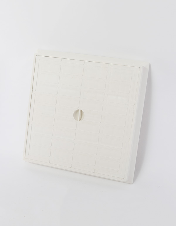 غطاء تفتيش 50×50 ابيض بلاستيك ان بي/ 1025001014