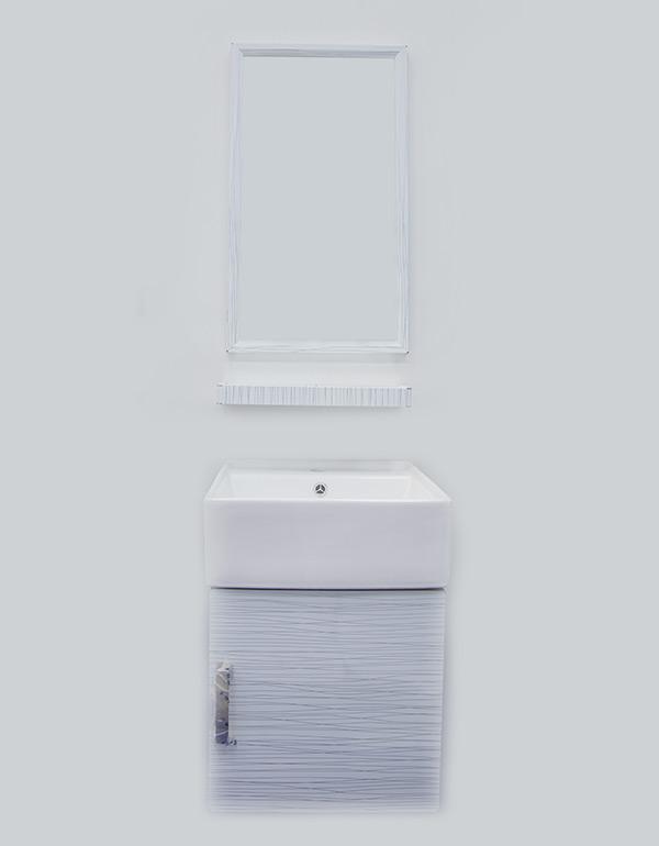 مغسلة ديكور تعليق استيل مع ابيض 1056 / 1014002053