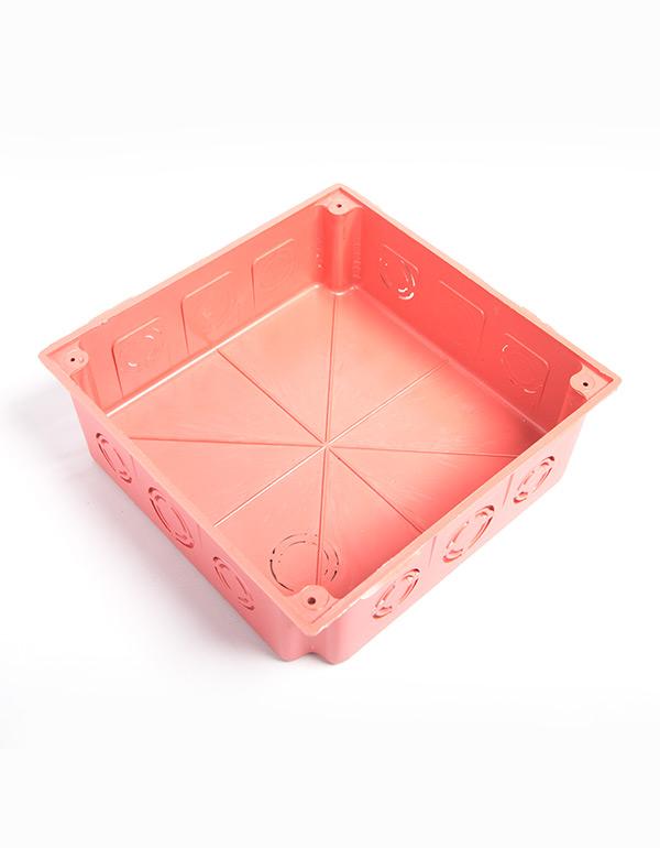 قسام بلاستيك 15× 15 أحمر / 2005002004
